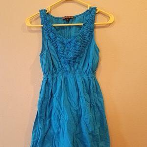 Women's turquoise Forever 21 dress size medium.